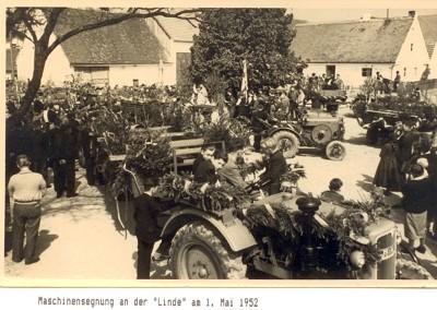 Chronik-Maschinensegnung_1.mai1952
